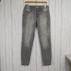 Vintage America Leopard Print Skinny Jean